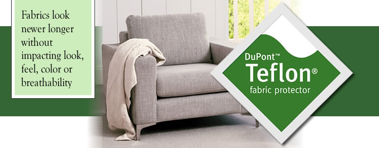 upholstery cleaning serivces, fabric protection
